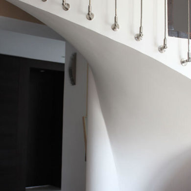 Escalier design d architecte Paris